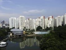 Pang Sua Pond in Bukit Panjang, Singapore Royalty Free Stock Photos