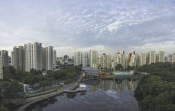 Pang Sua Pond at Bukit Panjang, Singapore Stock Photos