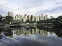 Pang Sua Pond at Bukit Panjang, Singapore Royalty Free Stock Images