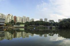 Pang Sua Pond in Bukit Panjang, Singapore Royalty Free Stock Photography