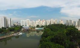 Pang Sua Pond in Bukit Panjang, Singapore Stock Image