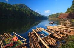 Pang-ung lake at Maehongson Stock Image
