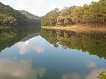 Pang Ung , Thailand. Reservoir at Pang Ung, Mae Hong Son Thailand Stock Photos