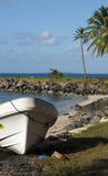 Panga boats North End Big Corn Island Nicaragua Royalty Free Stock Photo