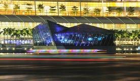 Pangaea klubba, MarinafjärdSands, Singapore Royaltyfria Bilder
