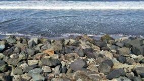 Pangandaran beach. Pangandaran east beach Stock Photography