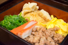 Pangasius dory donburi Stock Photography