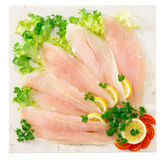 Pangasius fillet Stock Photo