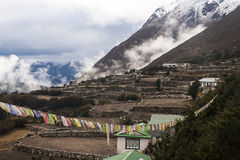 Pangboche village Royalty Free Stock Images