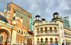 Panggung Bandaraya, teatro della città e la vecchia costruzione dell'alta corte in Kuala Lumpur, Malesia Immagine Stock