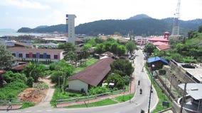 Pangkor Island, Malaysia stock video footage