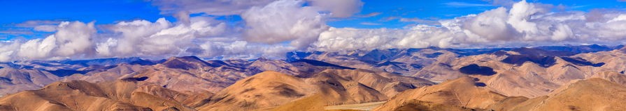 Pangla przepustka przy Tybet Obraz Royalty Free