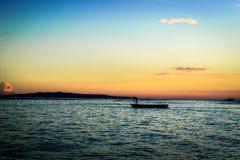 Panglao - ηλιοβασίλεμα Στοκ Εικόνες