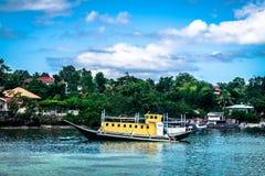 Panglao - παραλία Dumaluan Στοκ Φωτογραφίες