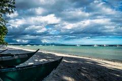 Panglao - παραλία Dumaluan Στοκ Εικόνα