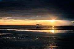 Panglao - заход солнца Стоковое Фото