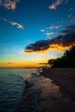 Panglao - coucher du soleil Photos libres de droits