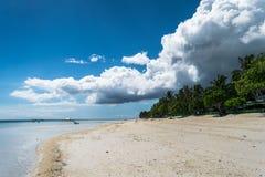 Panglao, Dumaluan plaża - Zdjęcia Stock