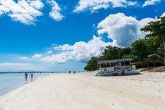 Panglao, Dumaluan plaża - Obrazy Royalty Free