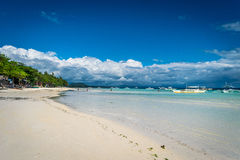 Panglao - Dumaluan strand Arkivfoto