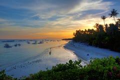 Panglao wyspa, Bohol obrazy stock