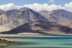Pangon Lake, Ladakh, India Stock Photography
