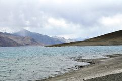 Pangong jeziora leh Obrazy Royalty Free