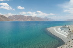 Pangong jezioro Obrazy Royalty Free