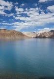 Pangong jezioro Zdjęcia Royalty Free