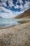 Pangong jezioro zdjęcie royalty free