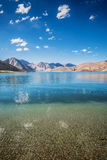 Pangong jezioro Fotografia Royalty Free