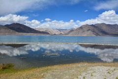 Pangong jezioro, Ladakh Fotografia Stock