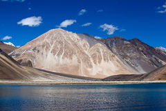 Pangong jezioro, Ladakh, India Obraz Royalty Free