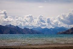 Pangong jezioro w Ladakh Obrazy Stock