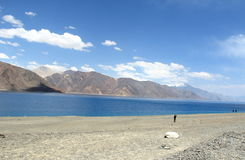 Pangong  Lake. Stock Photos