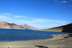 Pangong lake Royaltyfria Bilder