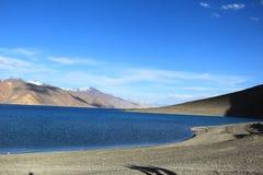Pangong lake Royaltyfria Bilder