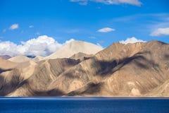 Pangong lake Arkivbild