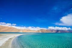 Pangong lake Arkivbilder