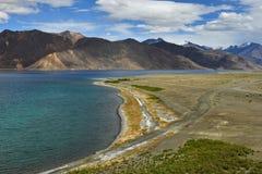 Pangong lake Arkivfoton