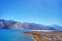 Pangong lake Arkivfoto
