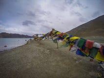 Pangong lake Royaltyfri Foto