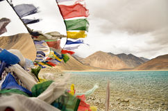 Pangong Lake. Beautiful Lake in Ladakh, India Royalty Free Stock Images