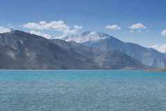 Pangong Lake, is an endorheic lake Stock Image
