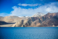 Pangong Lake, is an endorheic lake Stock Images