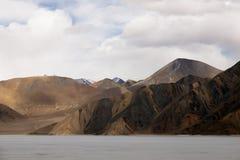 Pangong Lake in the Himalayas Royalty Free Stock Image