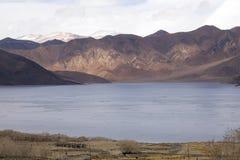 Pangong Lake in the Himalayas Royalty Free Stock Images