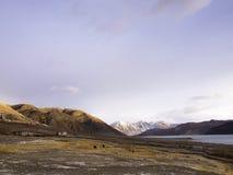 Pangong lake i Ladakh, Indien Fotografering för Bildbyråer