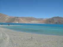Pangong lake in Ladakh-3 Stock Image
