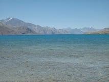 Pangong lake in Ladakh-8 Royalty Free Stock Image